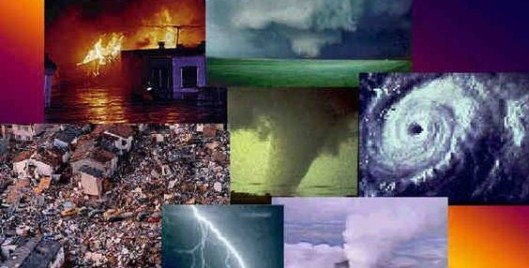 Image result for Image of montage of natural disasters